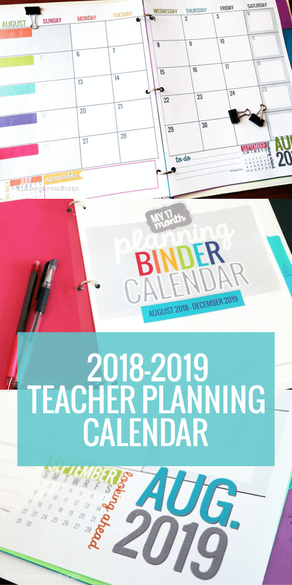 Printable 2019-2020 Calendar Template   My Future