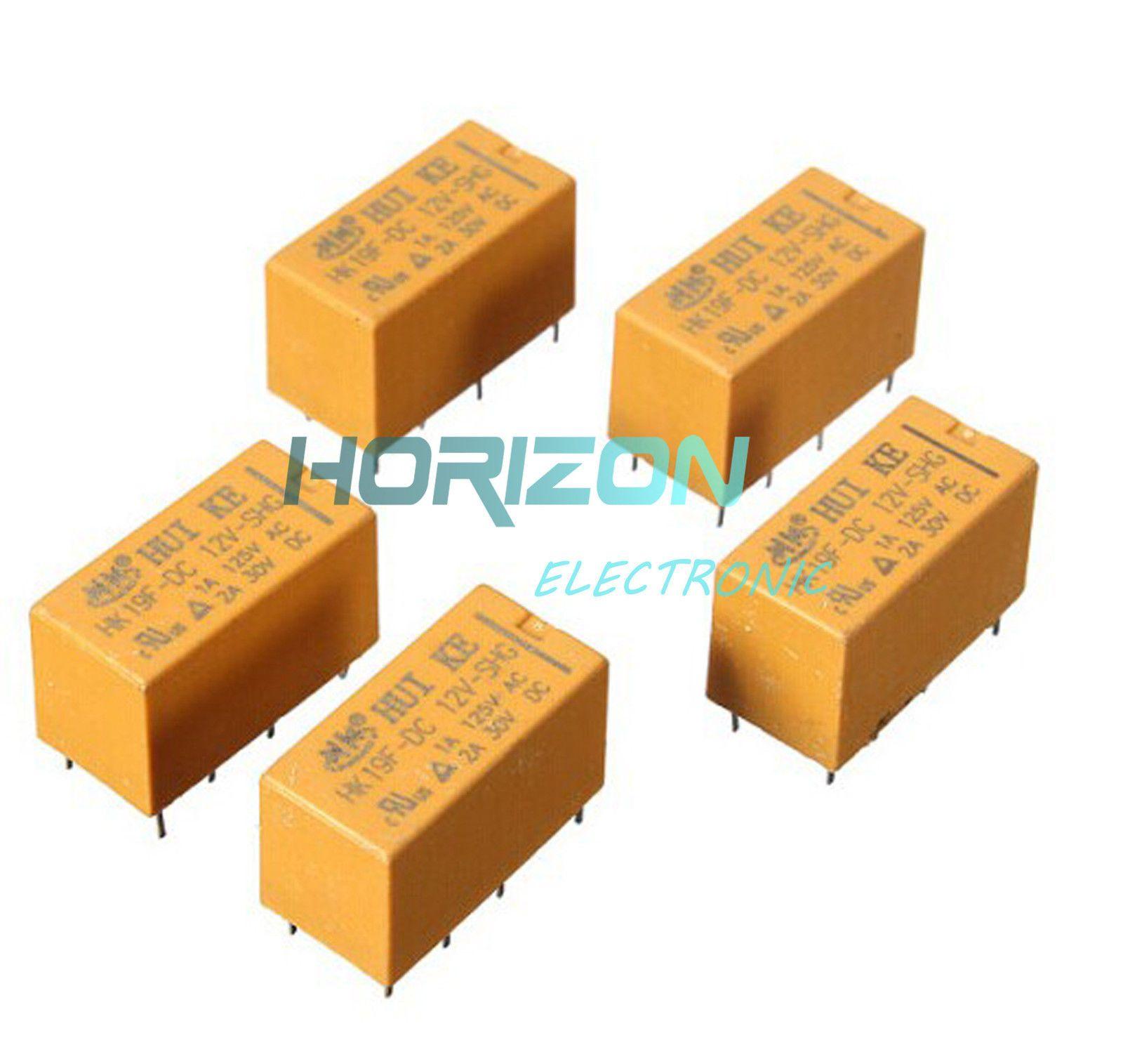 medium resolution of  1 59 2pcs dc 12v coil dpdt 8 pin 2no 2nc mini power relays pcb type hk19f ebay electronics
