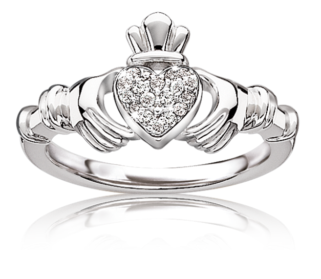 Claddagh Ring Engagement Ring Sterling Silver Claddagh Ring Irish Claddagh Promise Ring Irish Claddagh Ring Women/'s Claddagh Ring
