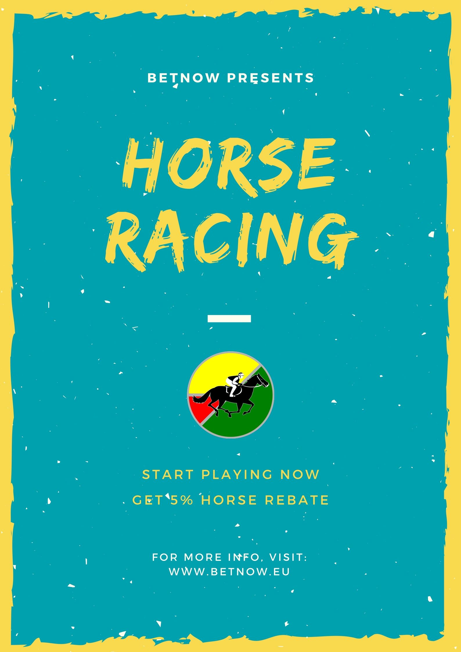 Bet on horse racing online & get 5 horse rebate at Betnow