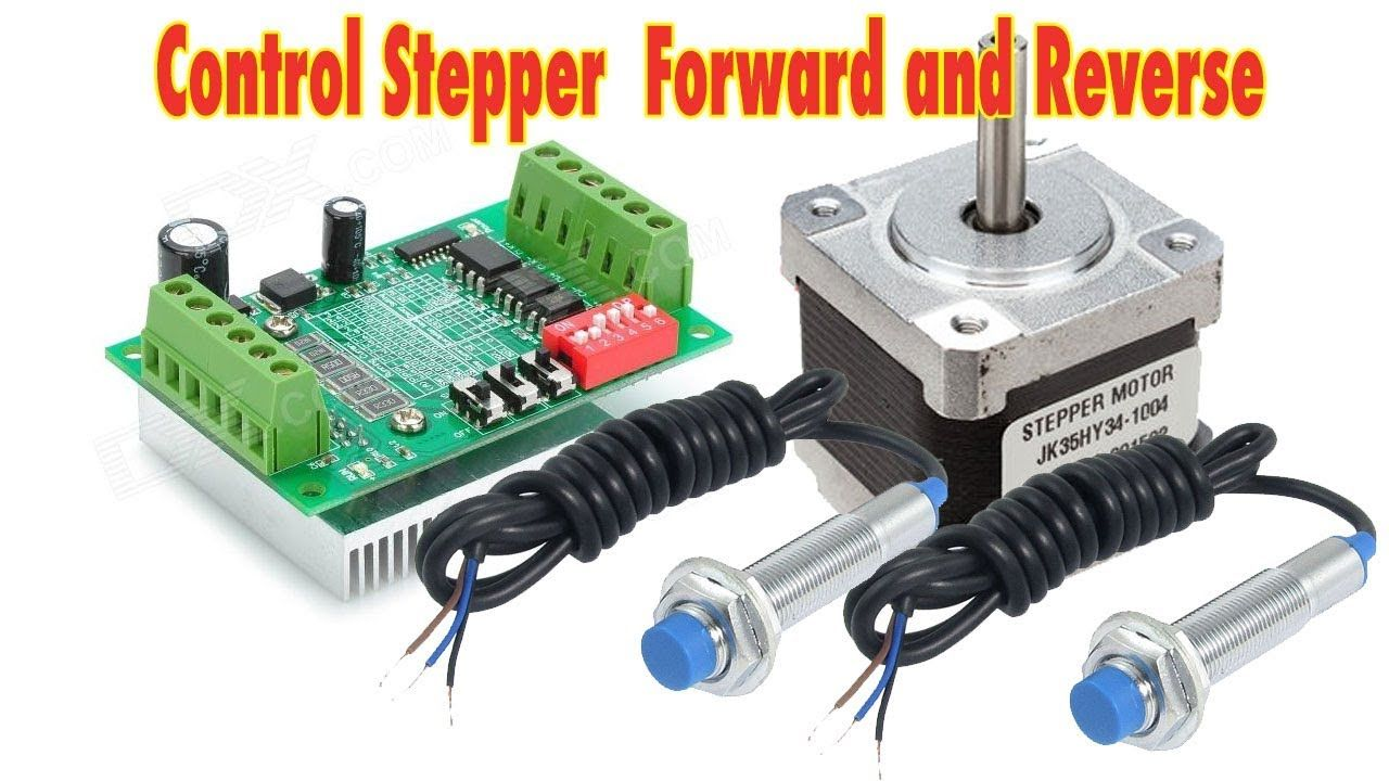 Control Stepper Forward And Reverse With Proximity Limit Switch Mag Ic Wiring Diagram Arduin
