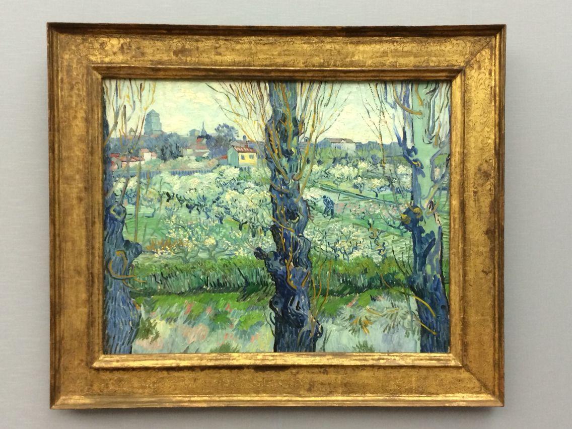 Neue #Pinakothek - #München Vincent van #Gogh - Blick auf Arles (1889)