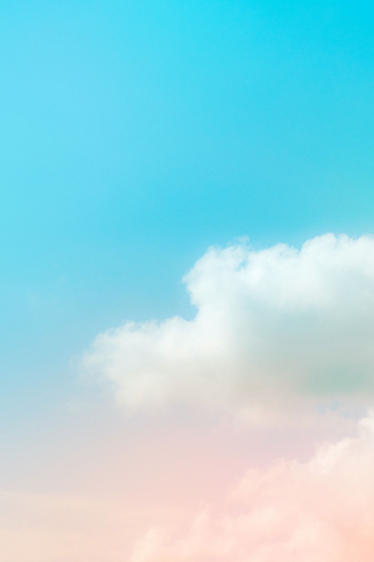 Download Free Illustration Of Pastel Pink Blue Gradient Sky With Clouds Background By Kwanloy About Sky Blue Sky In 2021 Sky And Clouds Blur Photo Background Clouds