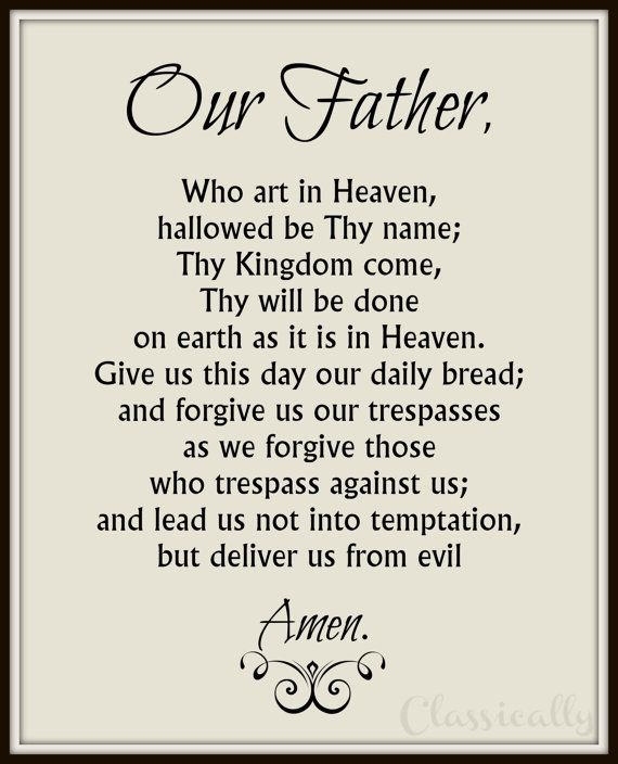 Image result for our father