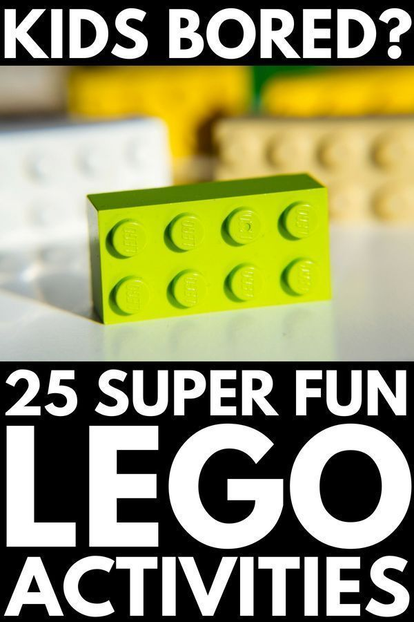 25 Lego activities for kids
