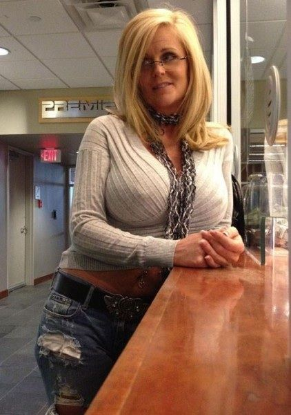 Babe busty mature older