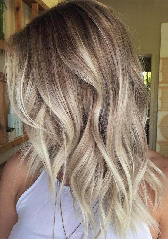 Are you familiar with balayage hair colors? Do you know ...