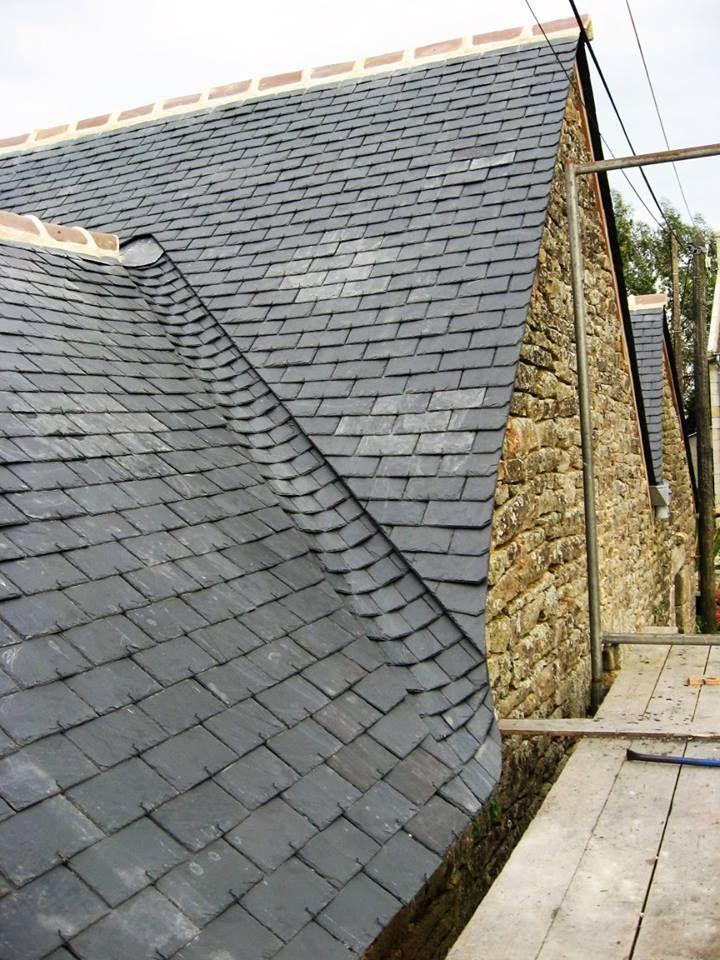 L Image Contient Peut Etre Ciel Et Plein Air Slate Roof Roof Design Roof Detail