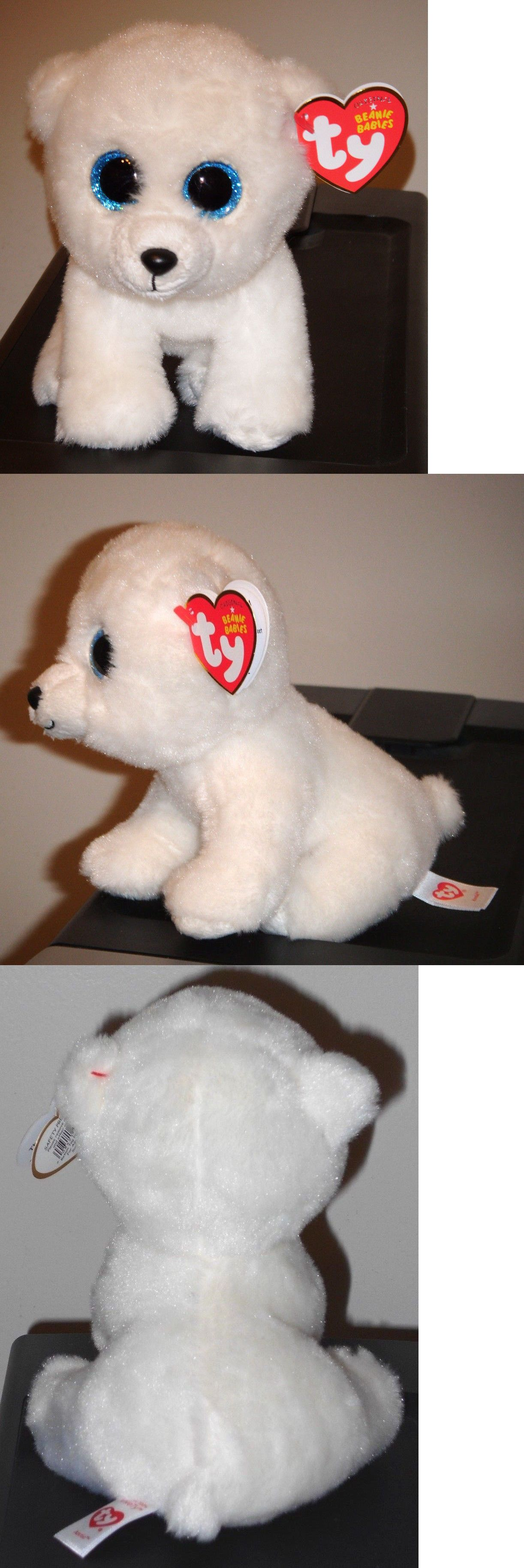 MWMT 6 Inch Ty Beanie Baby ~ ARCTIC the Polar Bear