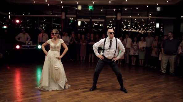 Watch This Epic Father Daughter Wedding Dance Shock Guests