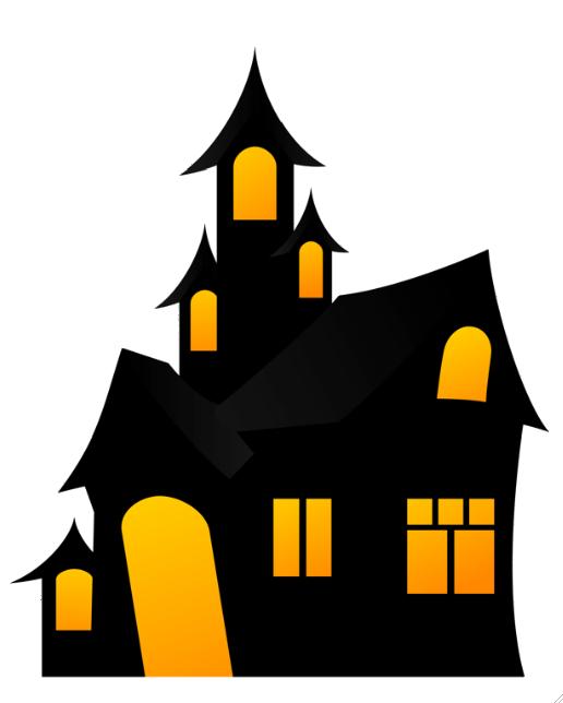 Haunted House Halloween Backdrop Halloween Coloring Halloween Haunted Houses