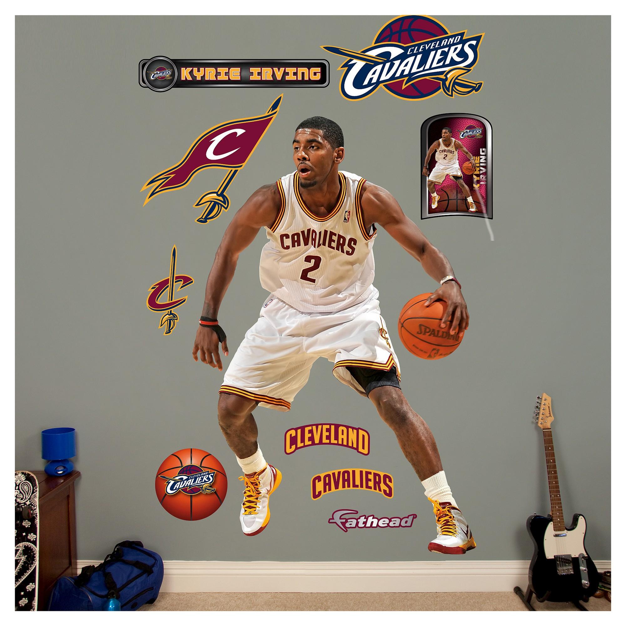 84727bd0c2f Cleveland Cavaliers Fathead Decorative Wall Art Set - 52x4