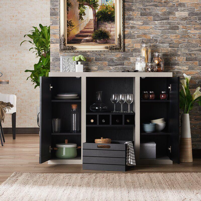 Heffernan 47 25 Wide Sideboard In 2021 Black Dining Room Furniture Dining Room Color Palette Furniture