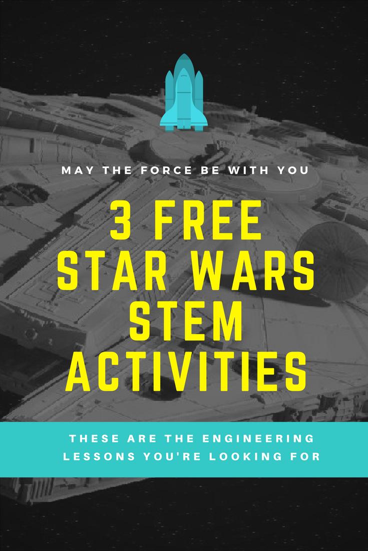 Free Star Wars Themed Hands On Stem Activities For Your After School Program Star Wars Classroom Engineering Activities Star Wars