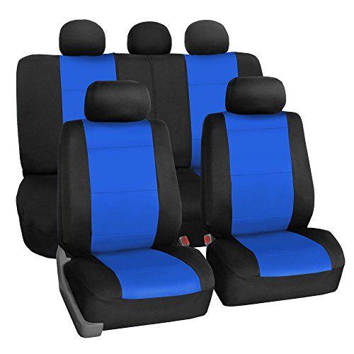 FH GROUP FB083115 Neoprene Waterproof Car Seat Covers Airbag Ready Split