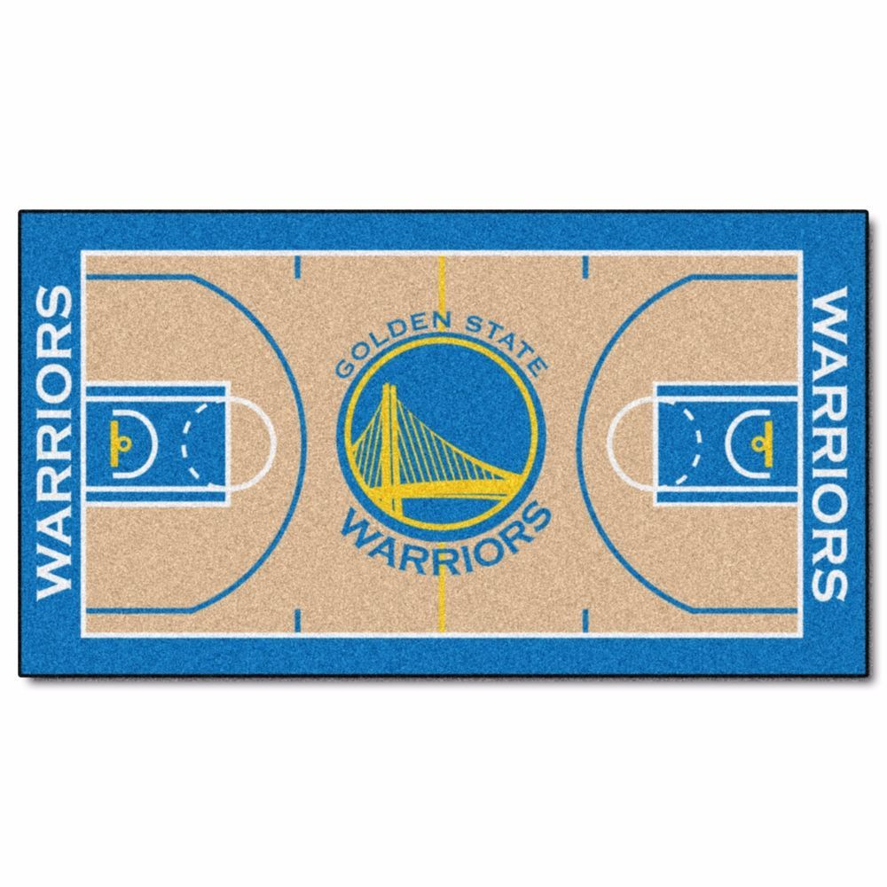 """Large Basketball Area Rug: Details About Golden State Warriors 29.5"""" X 54"""" Large"""