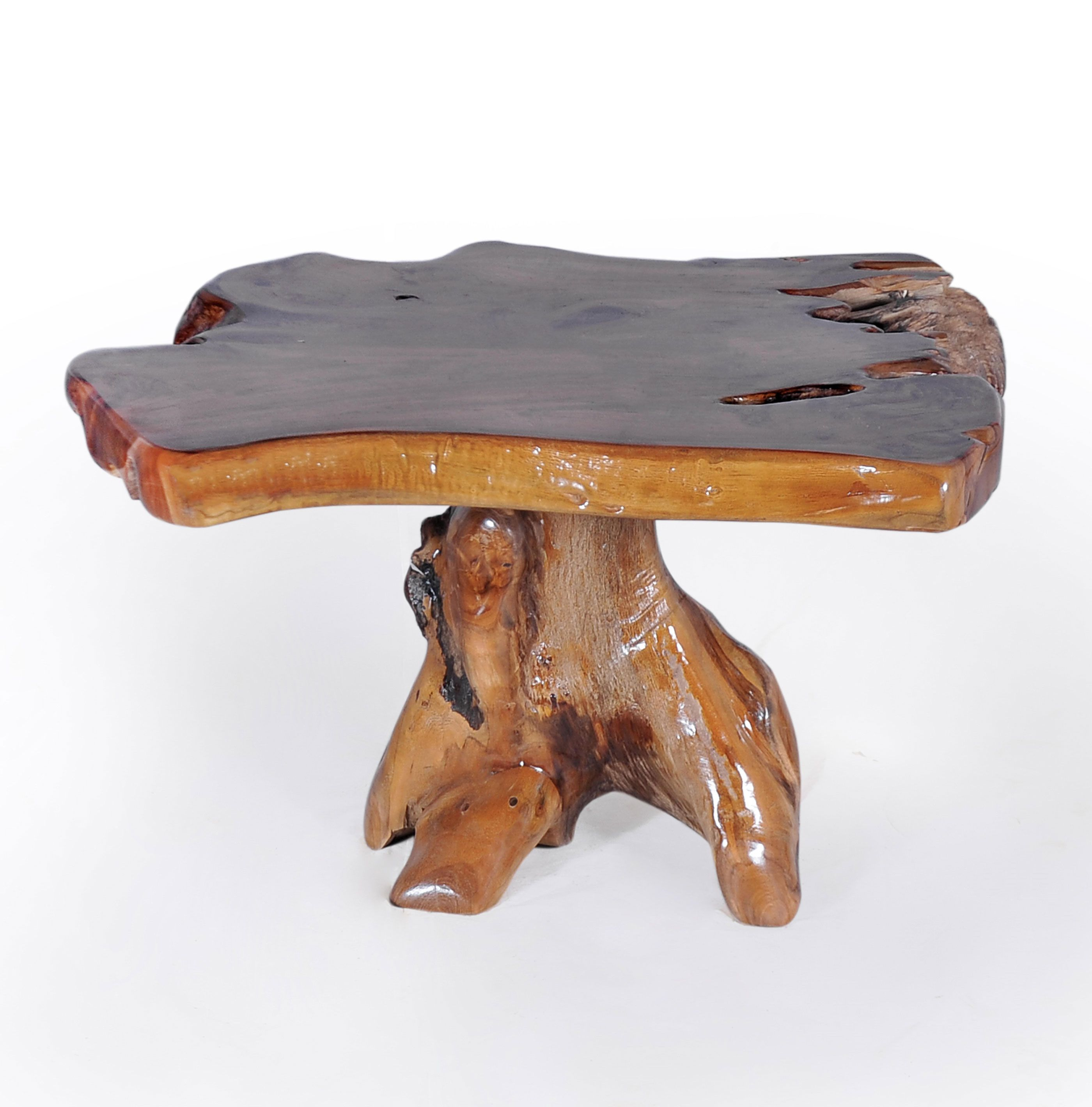 teak wood slab coffee table in 2019 teak root furniture one of a rh pinterest com