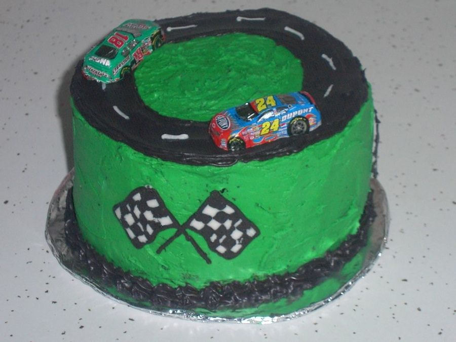 Race Car Sheet Cake Pin Coolest Race Track Birthday Cake 121 On