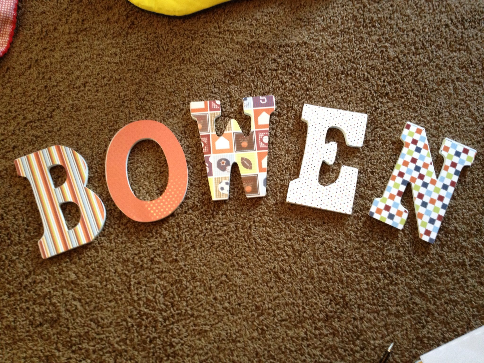 Fun craft for baby's room