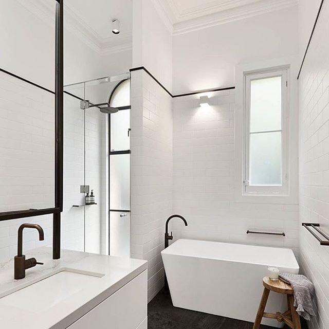 i spy our regina bath sitting pretty in this incredible bathroom by rh pinterest com