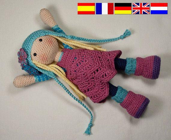 PDF/ Häkelanleitung - Puppe SUE | Amigurumi | Pinterest | Frances ...