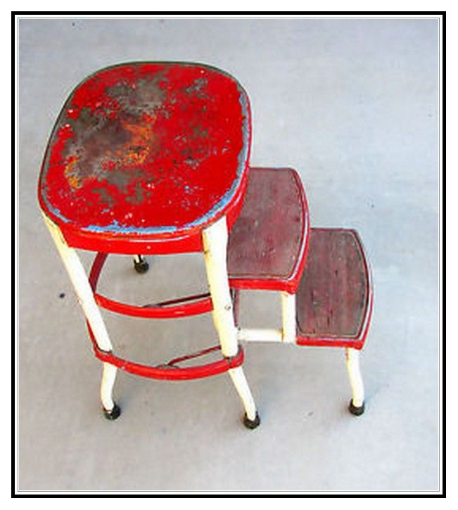 Incredible Cosco Step Stools Chairs Cosco Retro Chair With Step Spiritservingveterans Wood Chair Design Ideas Spiritservingveteransorg