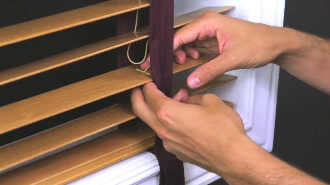 How To Repair A Wood Blind Cord Adlimon