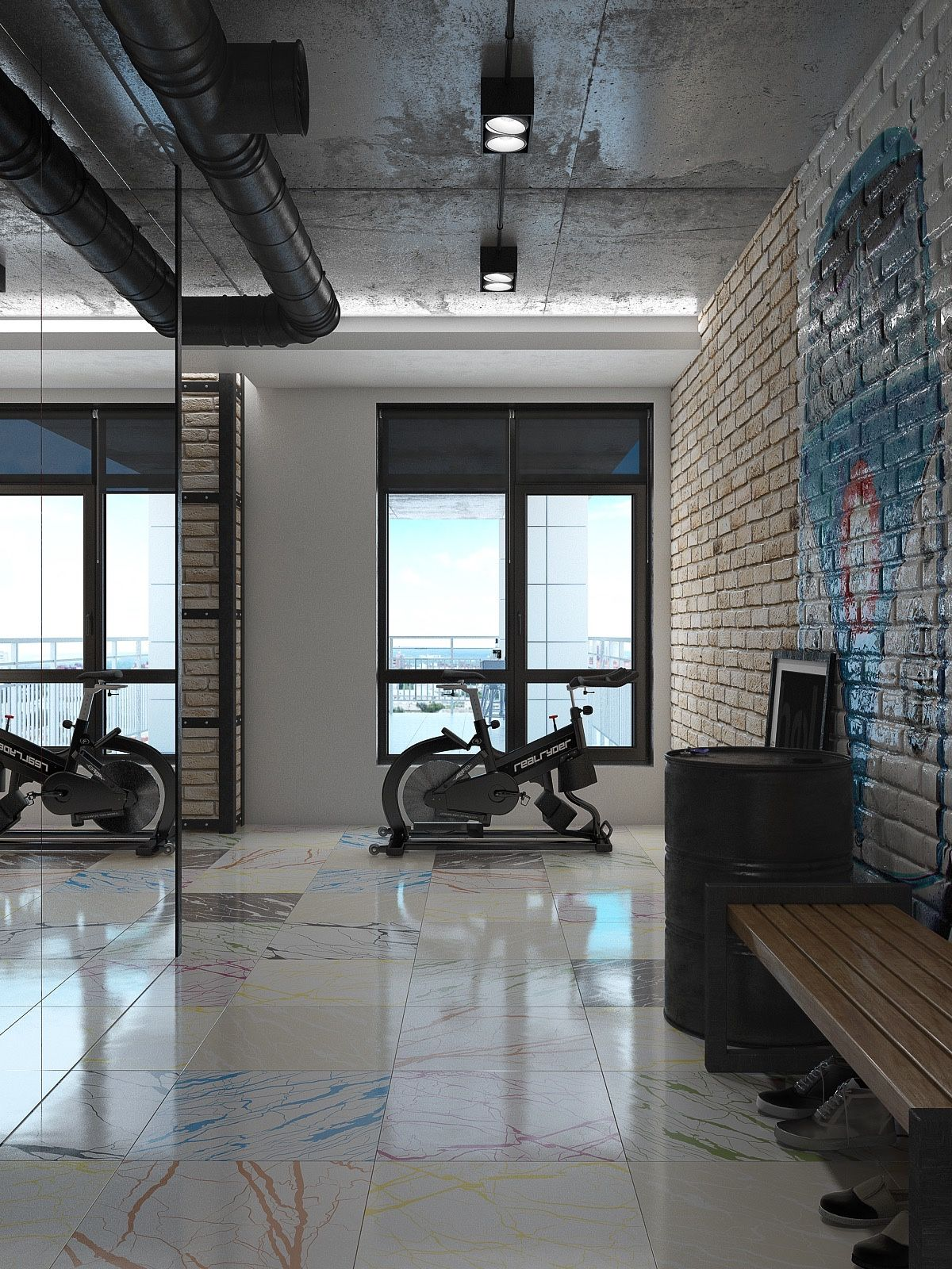 4 chic sophisticated lofts misc loft house design loft design rh pinterest com