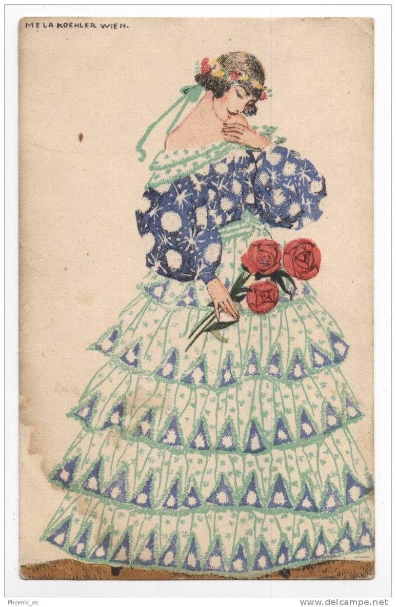 281 001 Jpg 772 1184 Fashion Illustration Vintage Art Deco Fashion Girls With Flowers