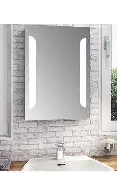vellamo led illuminated bathroom mirror with shaver socket rh pinterest es