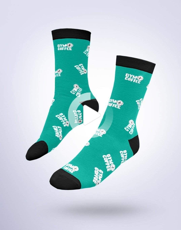 Givin it Green Socks