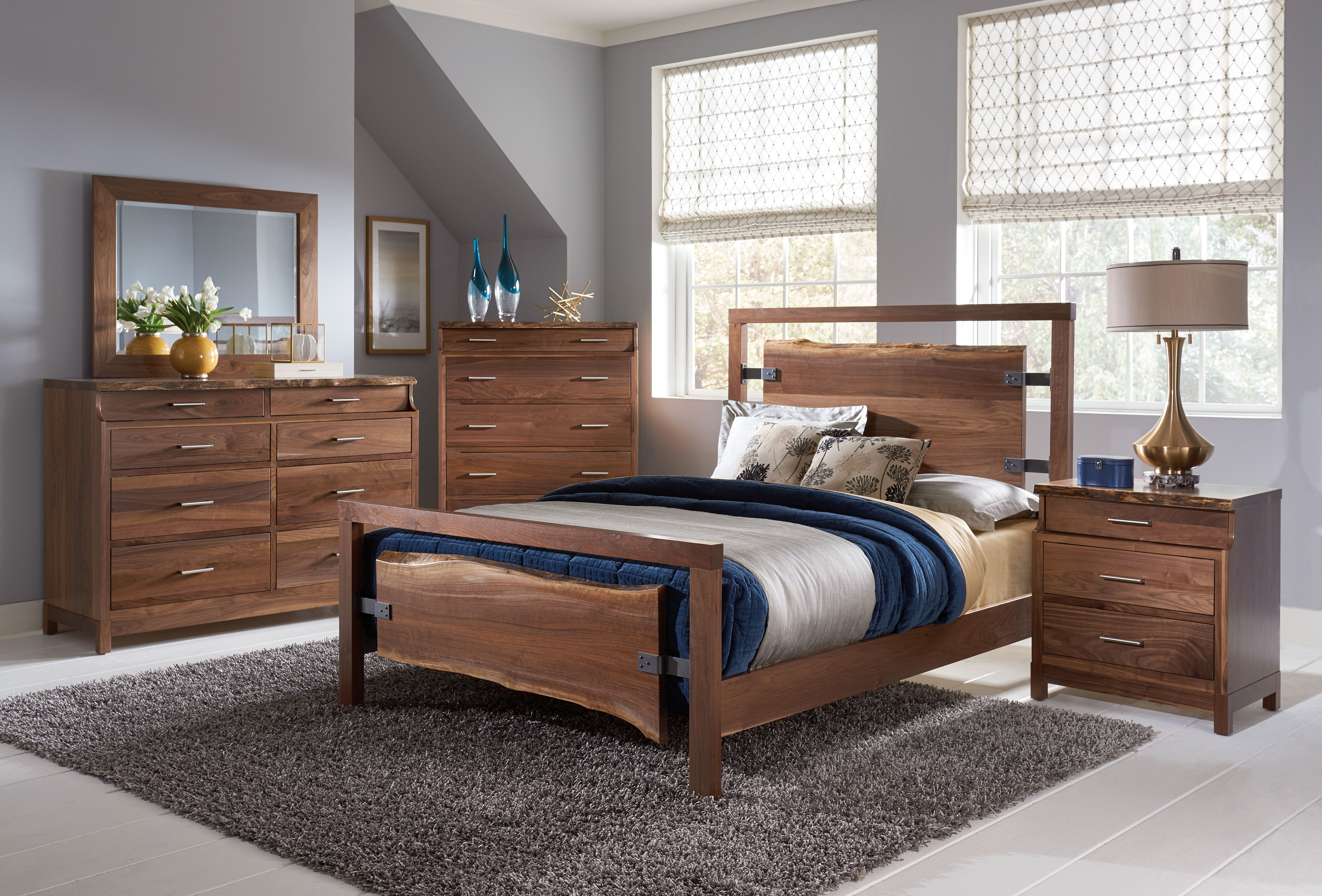 The beautiful Westmere bedroom set Live Edge