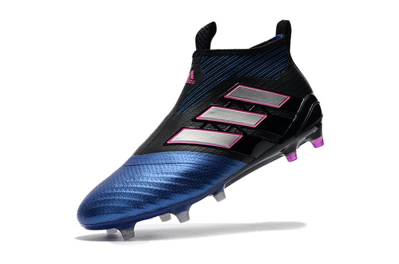 huge discount ee370 52280 adidas ACE 17+ PureControl FG AG Blue Blast - Core Black Feather White Blue  Kids