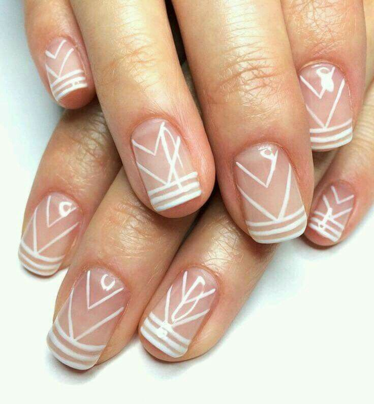 Pin by Verónica CM on Uñas | Pinterest | French manicure nails, Nail ...