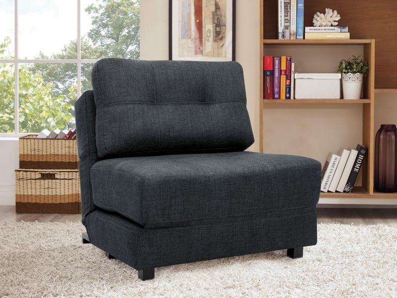 Chair Lounger Twin Size Bed 019416 Sofa Lit Mobilier De Salon Divan Lit