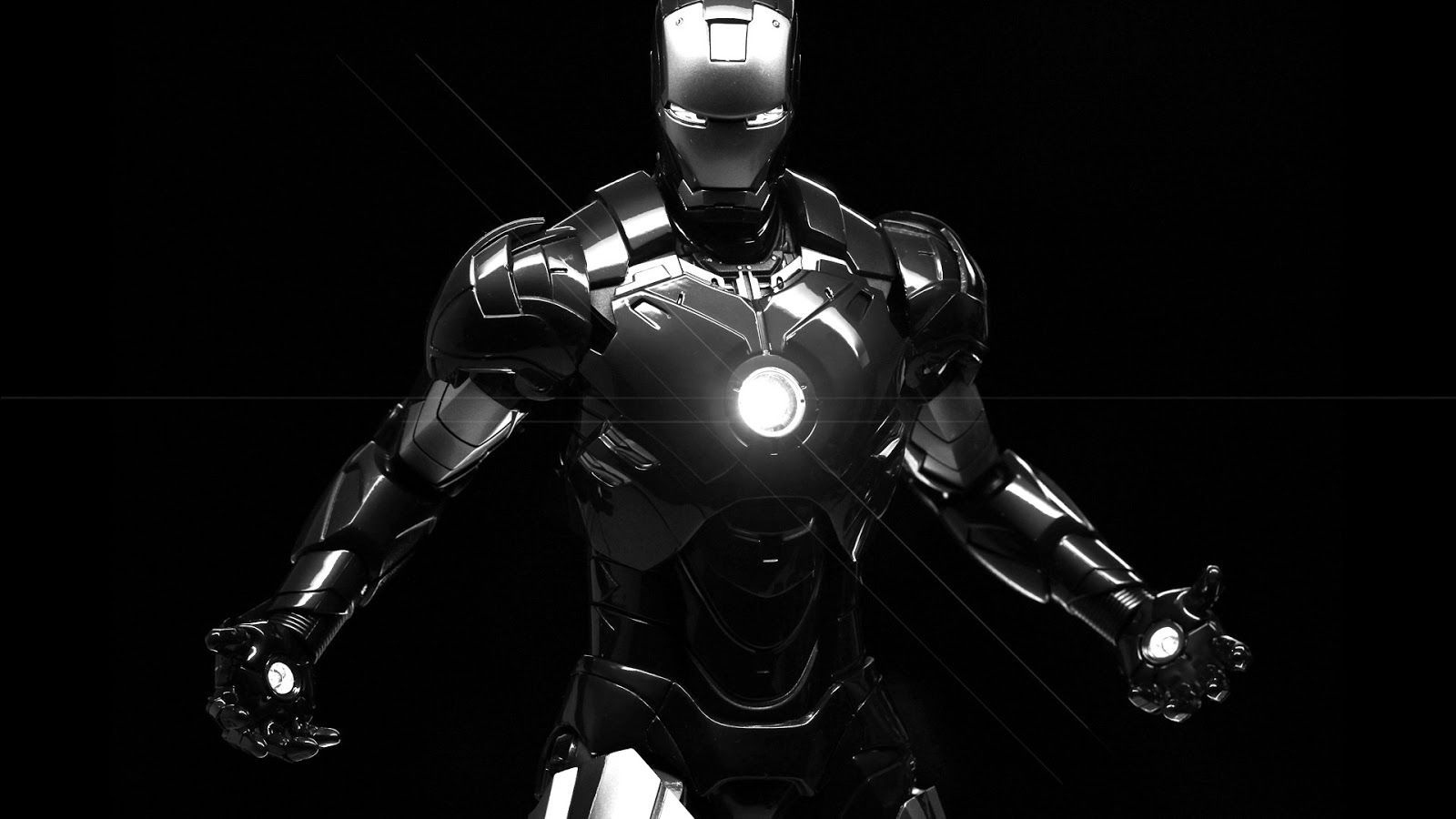 iron man black and white wallpaper | movie wallpaper | pinterest