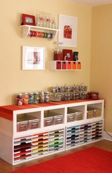 Amazing craft space