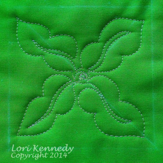 Vary The Maypop Leaf for your next #quilt! @Lori Kennedy