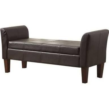 storage bench curved arms google search study leather storage rh pinterest com