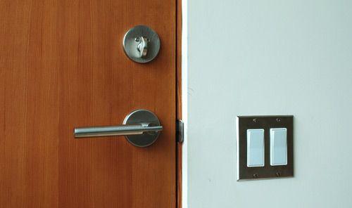 Modern door jamb building plans no mouldings house for Modern door trim
