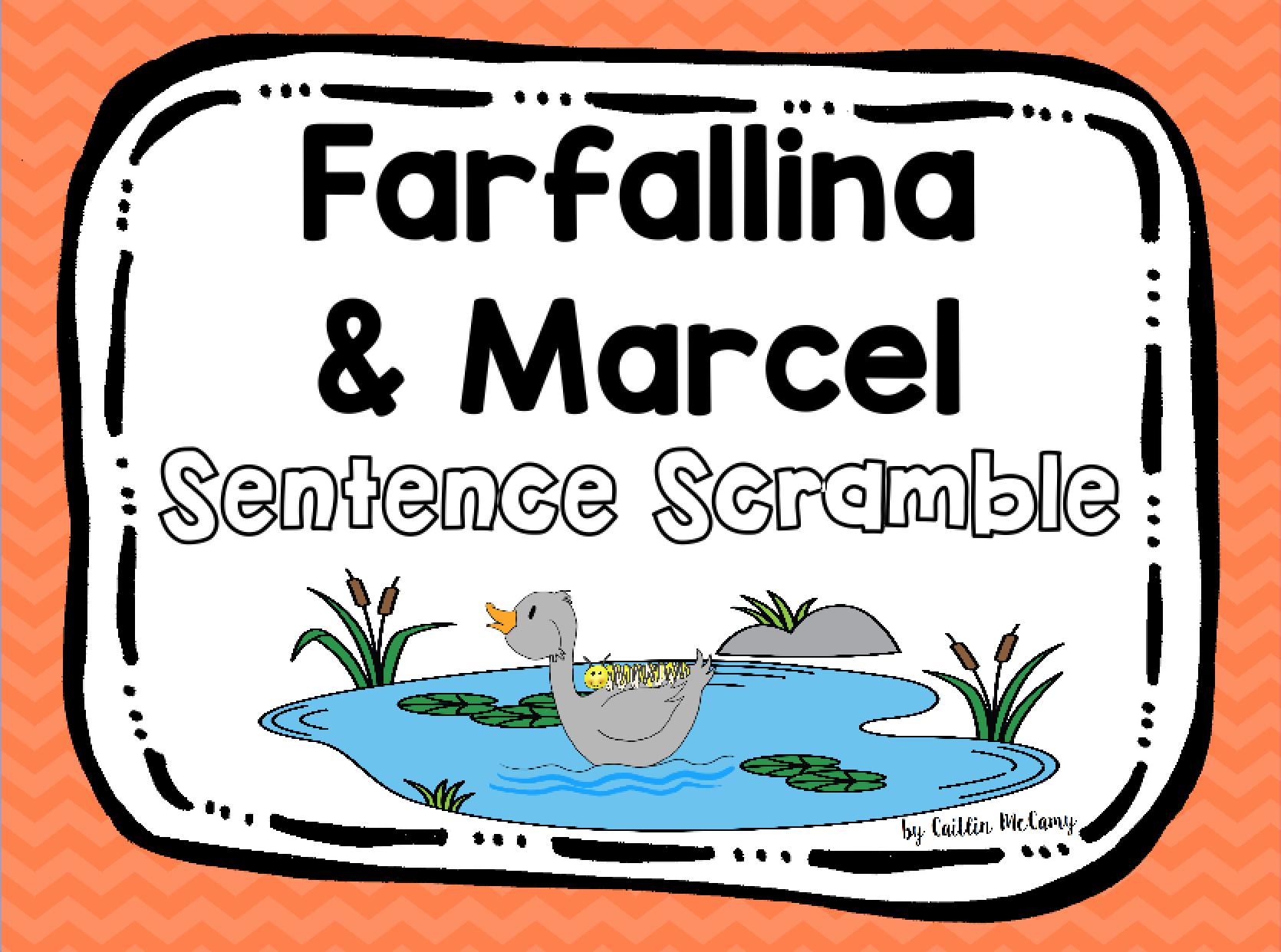 Farfallina Amp Marcel Sentence Scramble