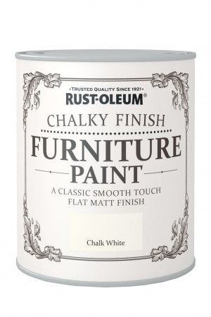 chalky furniture paint chalk white products i love rh pinterest es