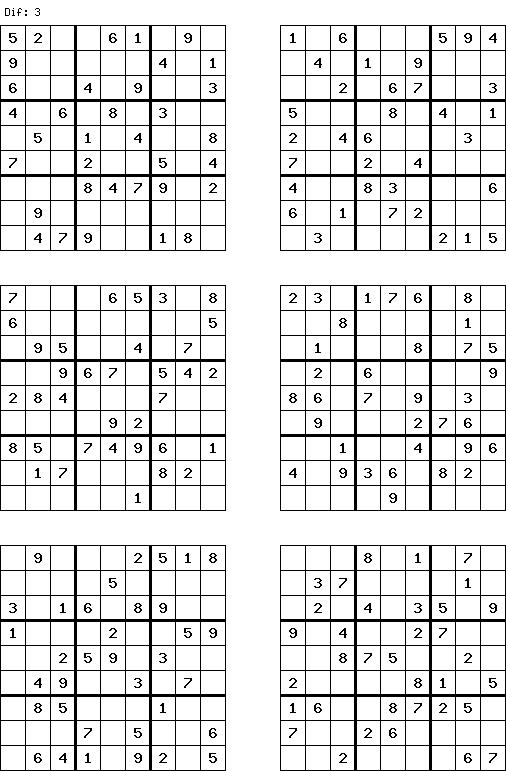 Les 25 meilleures id es de la cat gorie sudoku gratuit - Grille sudoku a imprimer gratuitement ...