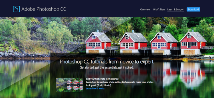 Adobe Photoshop Learn and Support