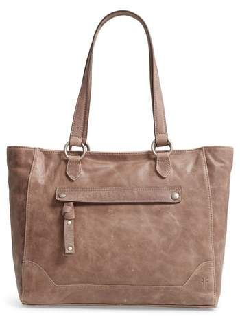 9ef2d2dff Frye Melissa Zip Leather Tote | Products | Fashion, Leather, Fashion ...