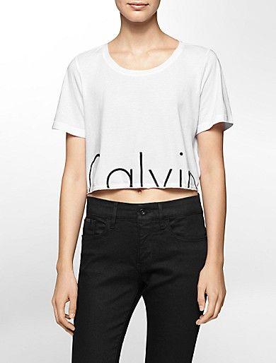 calvin klein cut off shirt