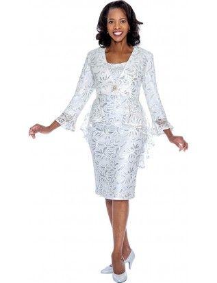 c7ef0a14e45cf Nubiano Dresses -White-Silver DN4592 | Nubiano in 2019 | Dresses ...
