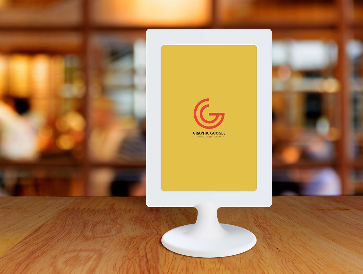 Free Restaurant Menu Frame on Table Mockup Free Restaurant Menu Frame on Table Mockup Pinterest