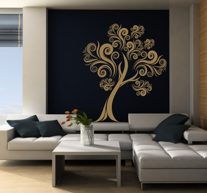 Floral Tree 2 Wall Decals Floral Tree 2 Wall