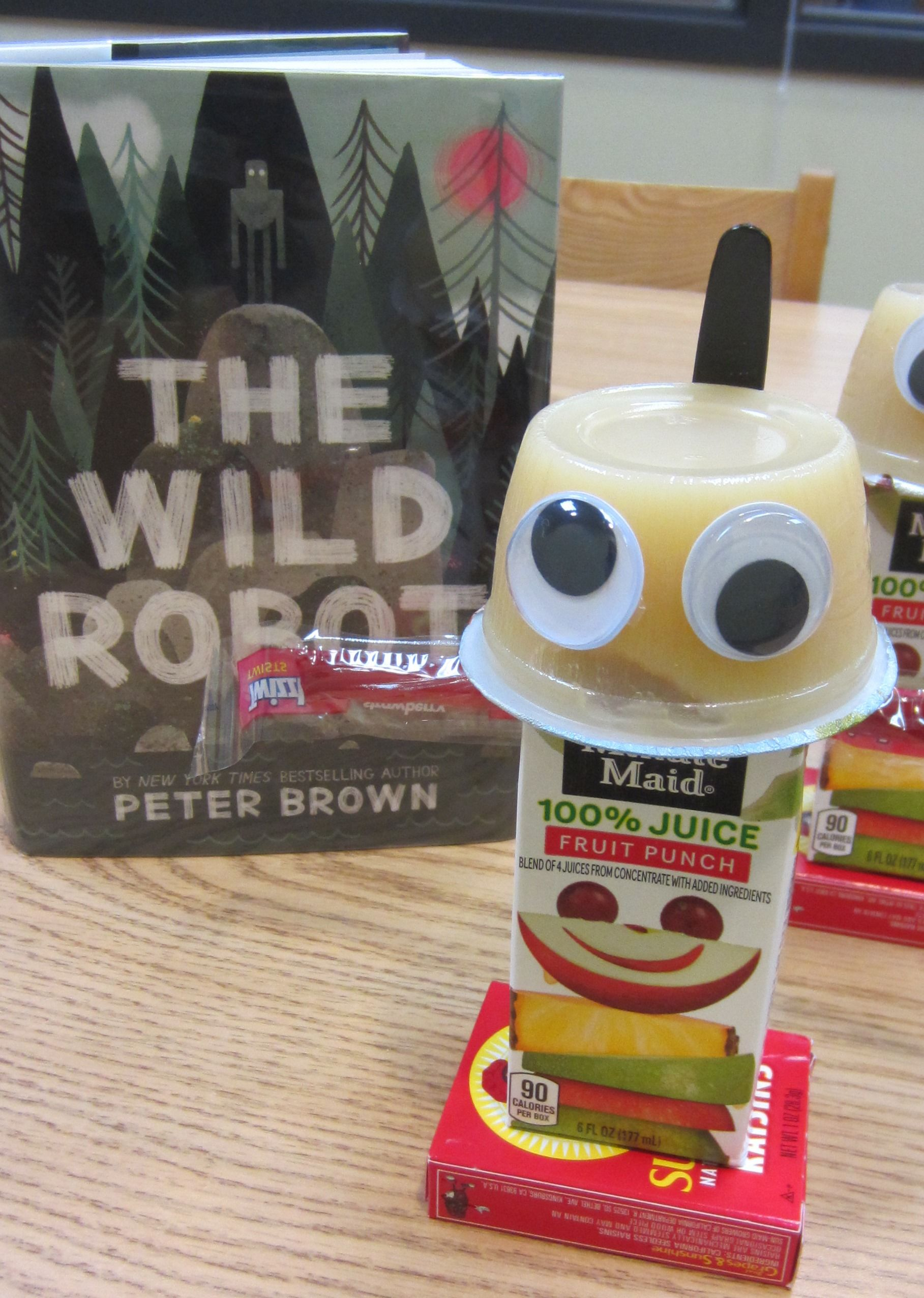 Cute and Healthy The Wild Robot Snack